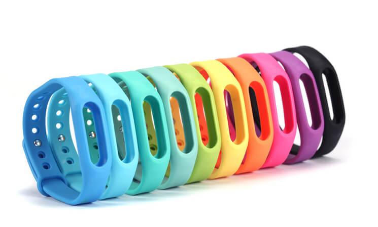 Xiaomi Цветные ремешки Mi Band 2