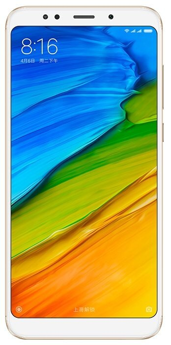 Xiaomi Redmi 5 Plus 3Gb/32Gb Золотой (Gold)