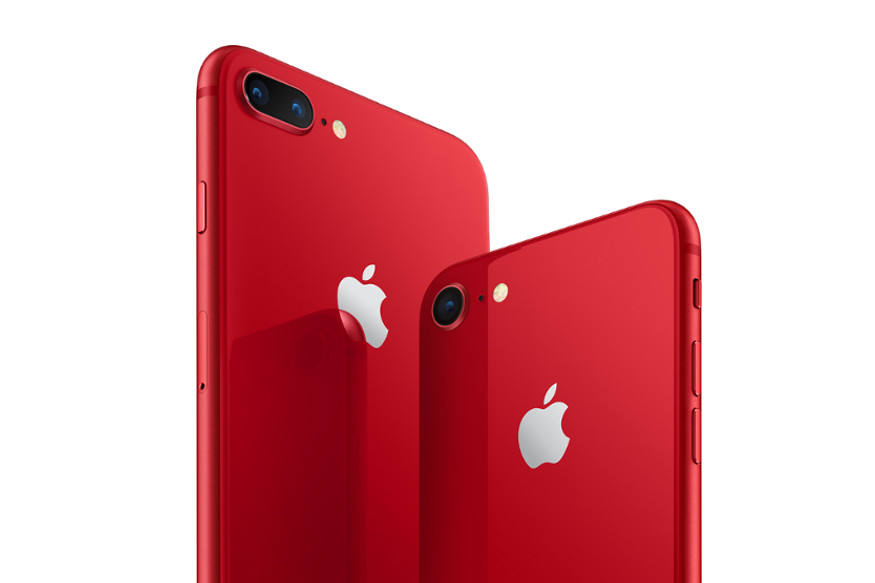 Apple iPhone 8 Plus (продукт) Red, OnePlus 5T Lava Red Edition, Vivo V7 + Infinite Red Edition, xiaomi Mi A1 Red Edition, Лучшие красные цветные смартфоны