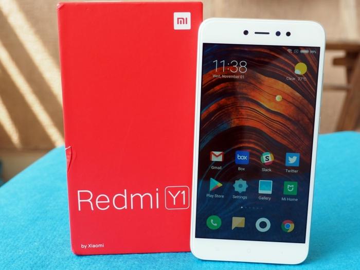 Xiaomi презентовал селфифон Redmi Y1